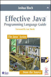 Effective Java™ Programming Language Guide by Joshua Bloch