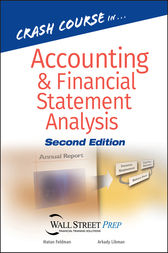 Crash Course in Accounting and Financial Statement Analysis by Matan Feldman