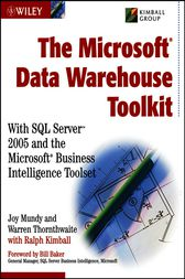 The MicrosoftData Warehouse Toolkit