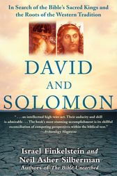 David and Solomon by Israel Finkelstein
