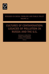Cultures of Contamination, Volume 14 by Michael Edelstein