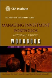 Managing Investment Portfolios Workbook by John L. Maginn