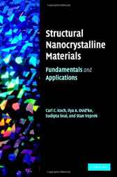 Structural Nanocrystalline Materials by Carl Koch