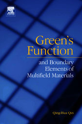 Green's function and boundary elements of multifield materials by Qing-Hua Qin
