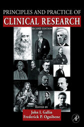 Principles and Practice of Clinical Research by John I. Gallin
