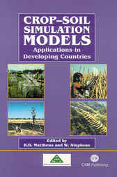 Crop-Soil Simulation Models by R.B. Matthews