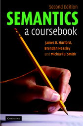 Semantics by James R. Hurford