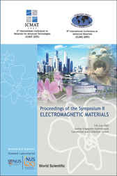 Electromagnetic Materials - Proceedings Of The Symposium R by Lim Hock