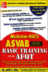 McGraw-Hill's ASVAB Basic Training for the AFQT by Dr. Janet Wall