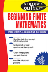 Schaum's Outline of Beginning Finite Mathematics by Seymour Lipschutz