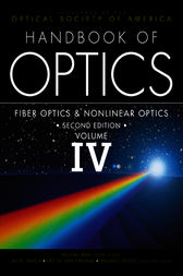 Handbook of Optics, Volume IV by Optical Society of America