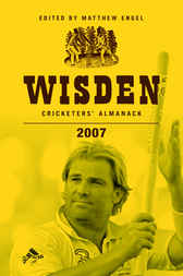 Wisden Cricketers' Almanack 2007 by Matthew Engel