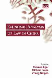 Economic Analysis of Law in China by T. Eger