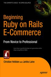 Beginning Ruby on Rails E-Commerce by Jarkko Laine
