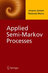 Applied Semi-Markov Processes by Jacques Janssen