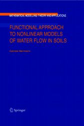 Functional Approach to Nonlinear Models of Water Flow in Soils by Gabriela Marinoschi