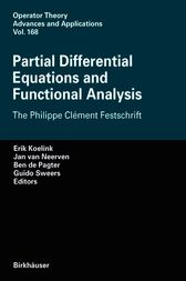 Partial Differential Equations and Functional Analysis by Erik Koelink