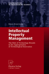 Intellectual Property Management by Klaus Jennewein