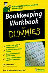 Bookkeeping Workbook For Dummies by Lita Epstein