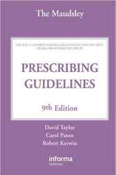 The Maudsley Prescribing Guidelines