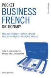 Pocket Business French Dictionary