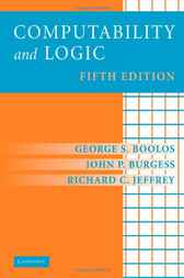 Computability and Logic by George S. Boolos