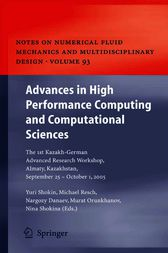 Advances in High Performance Computing and Computational Sciences by Yurii I. Shokin