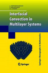 Interfacial Convection in Multilayer Systems by A. Nepomnyashchy