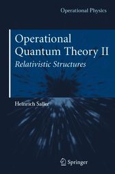 Operational Quantum Theory II