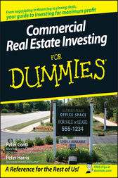 Commercial Real Estate Investing For Dummies by Peter Conti