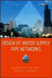 Design of Water Supply Pipe Networks by Prabhata K. Swamee