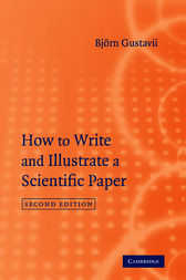 How to Write and Illustrate a Scientific Paper by Björn Gustavii