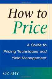 How to Price by Oz Shy