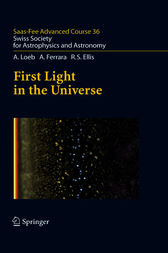 First Light in the Universe by Abraham Loeb
