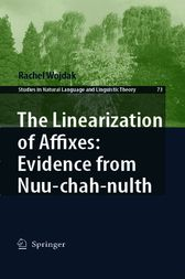 The Linearization of Affixes by Rachel Wojdak