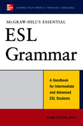 McGraw-Hill's Essential ESL Grammar