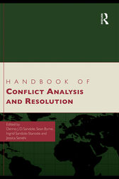 Handbook of Conflict Analysis and Resolution by Dennis J.D. Sandole