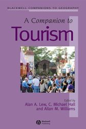 A Companion to Tourism by C. Michael Hall