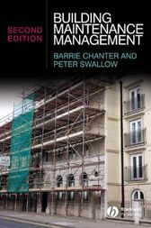 Building Maintenance Management by Barrie Chanter