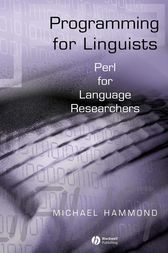 Programming for Linguists by Michael Hammond