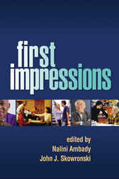 First Impressions by Nalini Ambady