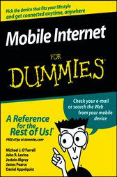Mobile Internet For Dummies by Michael J. O'Farrell