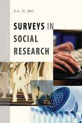 Surveys in Social Research by D.A. de Vaus
