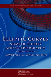 Elliptic Curves by Lawrence C. Washington