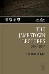 The Jamestown Lectures 2006-2007
