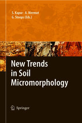 New Trends in Soil Micromorphology