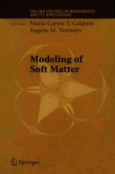 Modeling of Soft Matter