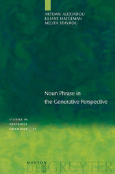 Noun Phrase in the Generative Perspective