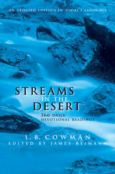 Streams in the Desert for Kids by L. B. E. Cowman