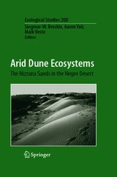 Arid Dune Ecosystems by Siegmar-W. Breckle